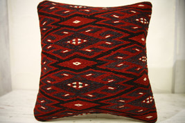 Kilim Pillows |16x16 | Decorative Pillows | 601 | Accent Pillows , turki... - $49.00