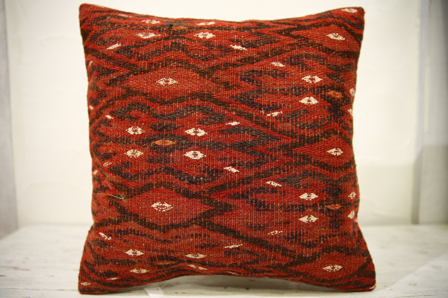 Kilim Pillows |16x16 | Decorative Pillows | 591 | Accent Pillows , turkish pillo