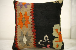 Kilim Pillows |16x16 | Decorative Pillows | 572 | Accent Pillows , turki... - $56.00