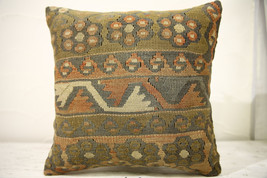 Kilim Pillows |16x16 | Decorative Pillows | 546 | Accent Pillows , turki... - $42.00