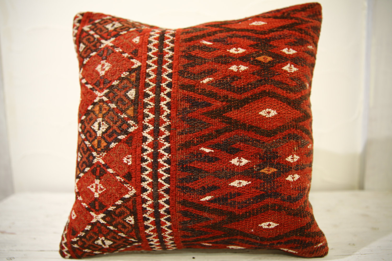 Kilim Pillows |16x16 | Decorative Pillows | 526 | Accent Pillows turkish pillow