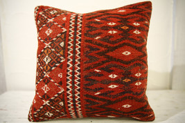 Kilim Pillows |16x16 | Decorative Pillows | 526 | Accent Pillows turkish... - $42.00
