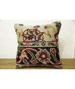 Kilim Pillows |16x16 | Decorative Pillows | 419 | Accent Pillows, Kilim ... - $42.00