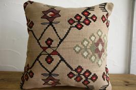 Kilim Pillows |16x16 | Decorative Pillows | 145 | Accent Pillows, Kilim ... - $42.00