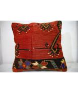 Kilim Pillows |18x18| Decorative Pillows | 1014 | Accent Pillows, Kilim ... - $56.00