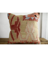 Kilim Pillows |18x18| Decorative Pillows | 371 | Accent Pillows, Kilim c... - $49.00