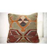 Kilim Pillows |18x18| Decorative Pillows | 1002 | Accent Pillows, Kilim ... - $49.00