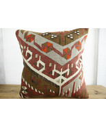 Kilim Pillows |18x18| Decorative Pillows | 350 | Accent Pillows, Kilim c... - $49.00