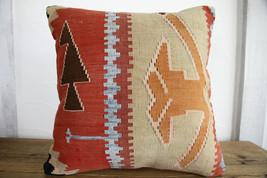 Kilim Pillows |18x18| Decorative Pillows | 274 | Accent Pillows, Kilim c... - $49.00