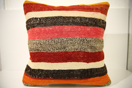 Kilim Pillows | 18x18 | Decorative Pillows | 1538 | Accent Pillows, thro... - $47.60