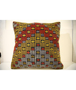 Kilim Pillows | 20x20 | Decorative Pillows | 1504 | Accent Pillows, Kili... - $56.00