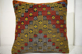 Kilim Pillows | 20x20 | Decorative Pillows | 650 | Accent Pillows, Kilim... - $56.00