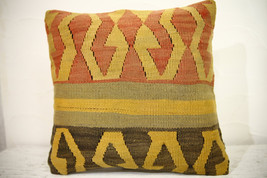Kilim Pillows | 16x16 | Turkish pillows | 1085 | Ethnic Pillow , Kelim c... - $42.00