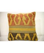 Kilim Pillows | 16x16 | Turkish pillows | 1085 | Ethnic Pillow , Kelim c... - $42.00