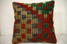 Kilim Pillows | 16x16 | Turkish pillows | 1087 | Ethnic Pillow , Kelim c... - $35.00