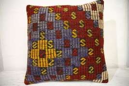 Kilim Pillows | 16x16 | Turkish pillows | 1039 | Ethnic Pillow , Kelim c... - $35.00