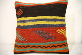 Kilim Pillows | 16x16 | turkish pillows | 990 | Accent Pillows,Decorativ... - $35.00