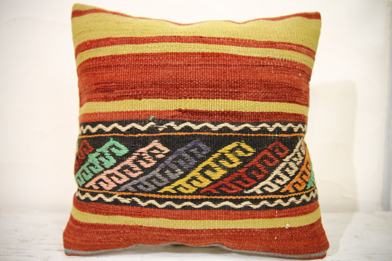 Kilim Pillows | 16x16 | turkish pillows | 989 | Accent Pillows,Decorative Pillow