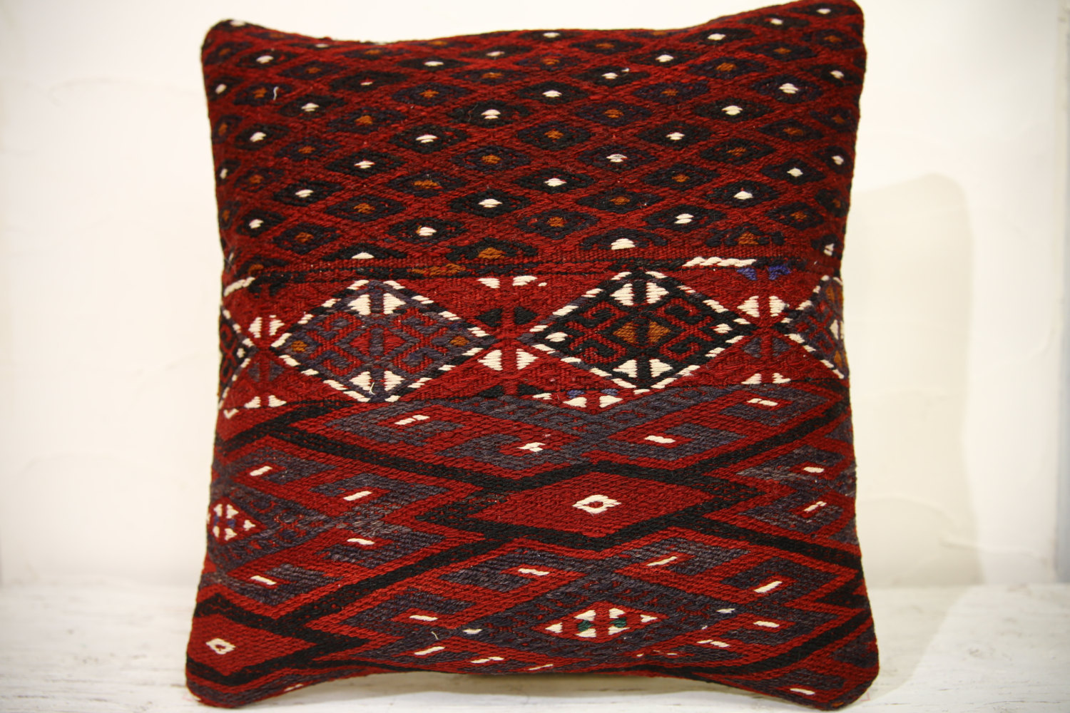Kilim Pillows | 16x16 | turkish pillows | 967 | Accent Pillows,Decorative Pillow