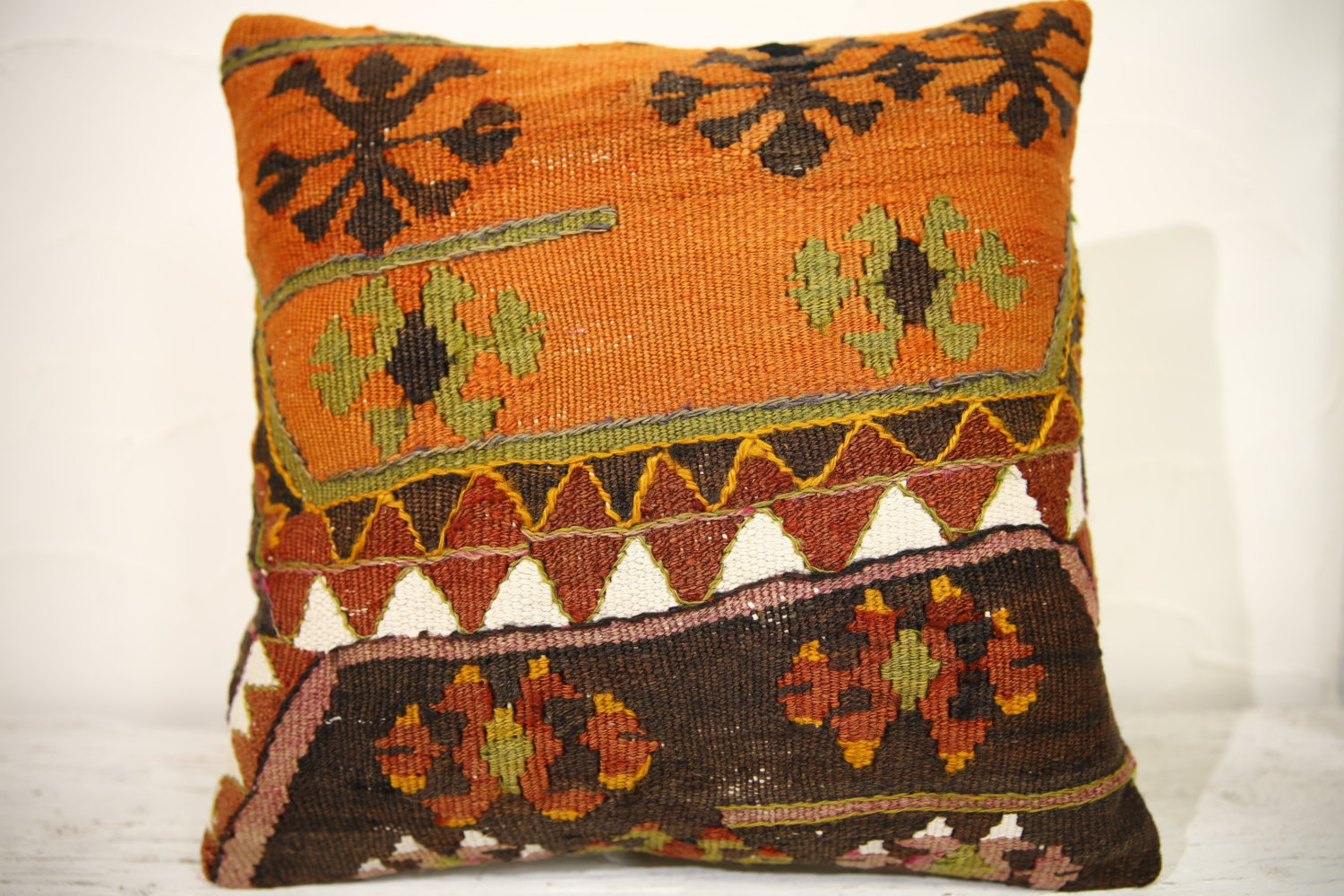 Kilim Pillows | 16x16 | Decorative Pillows | 910 | Accent Pillowsturkish pillow