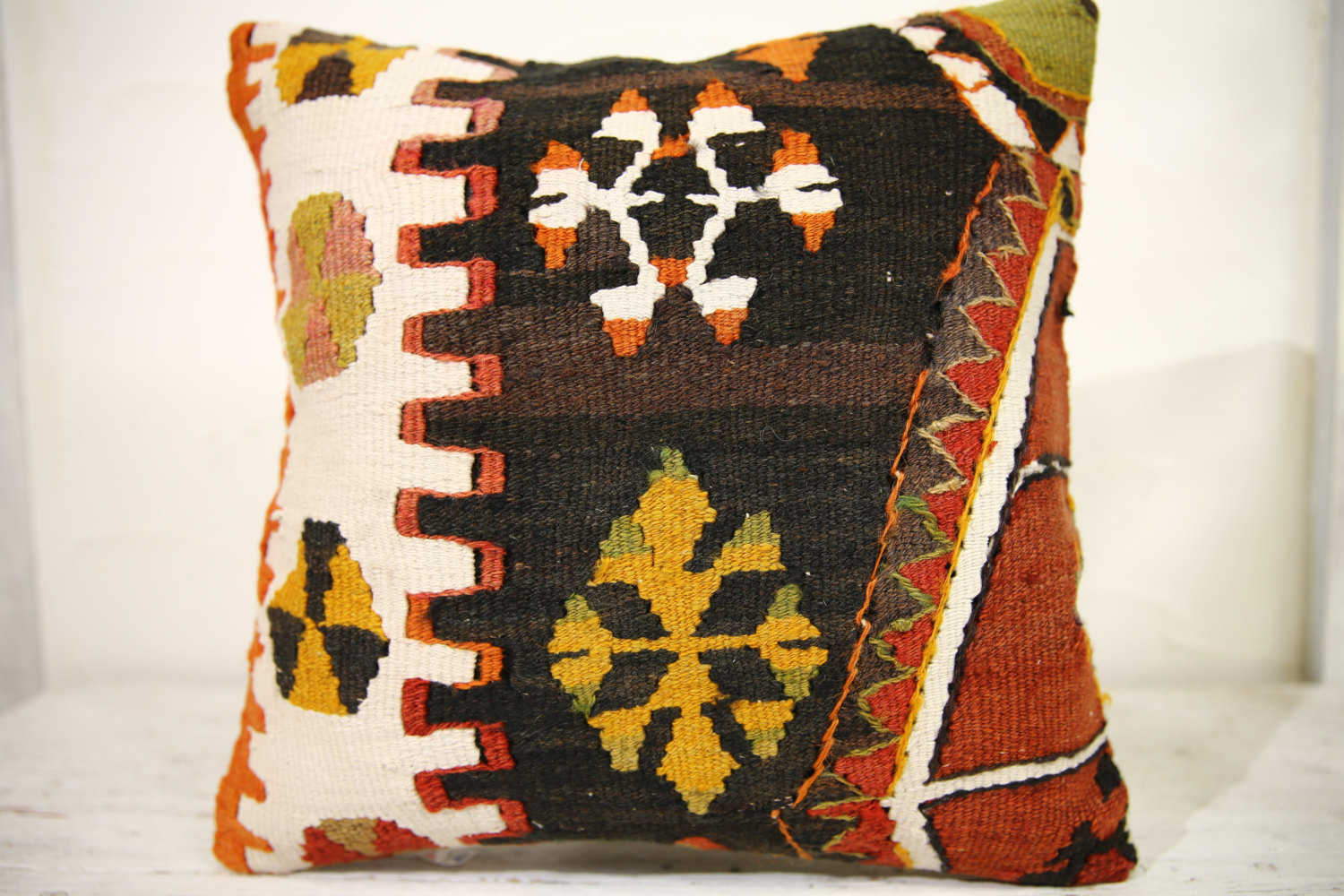 Kilim Pillows | 16x16 | Decorative Pillows | 866 | Accent Pillows,turkish pillow