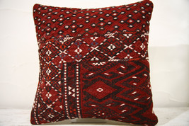 Kilim Pillows | 16x16 | Decorative Pillows | 775 | Accent Pillows,turkis... - $49.00
