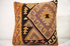 Kilim Pillows | 16x16 | Decorative Pillows | 779 | Accent Pillows,turkis... - $49.00