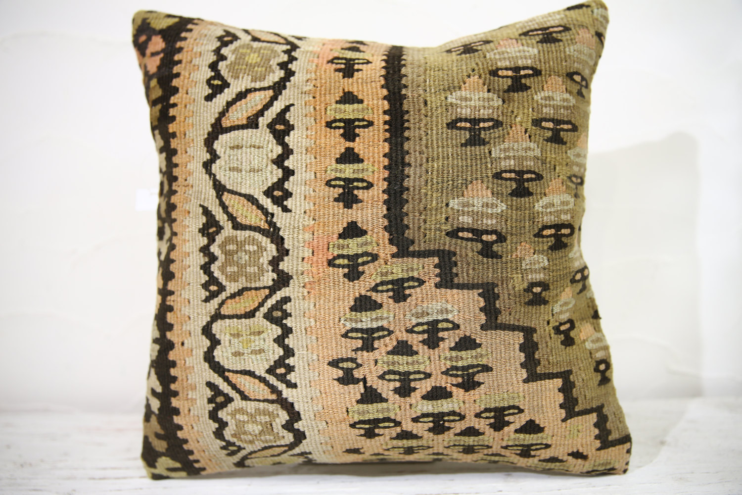 Kilim Pillows |16x16 | Decorative Pillows | 751 | Accent Pillows ,turkish pillow