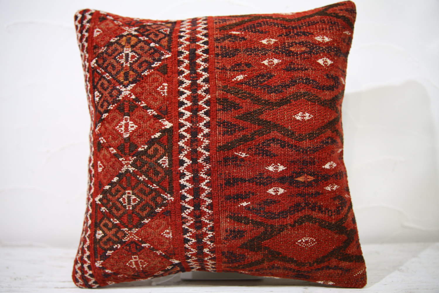 Kilim Pillows |16x16 | Decorative Pillows | 739 | Accent Pillows ,turkish pillow