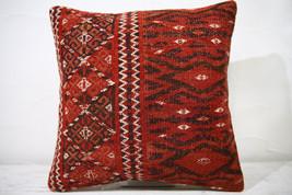 Kilim Pillows |16x16 | Decorative Pillows | 739 | Accent Pillows ,turkis... - $42.00