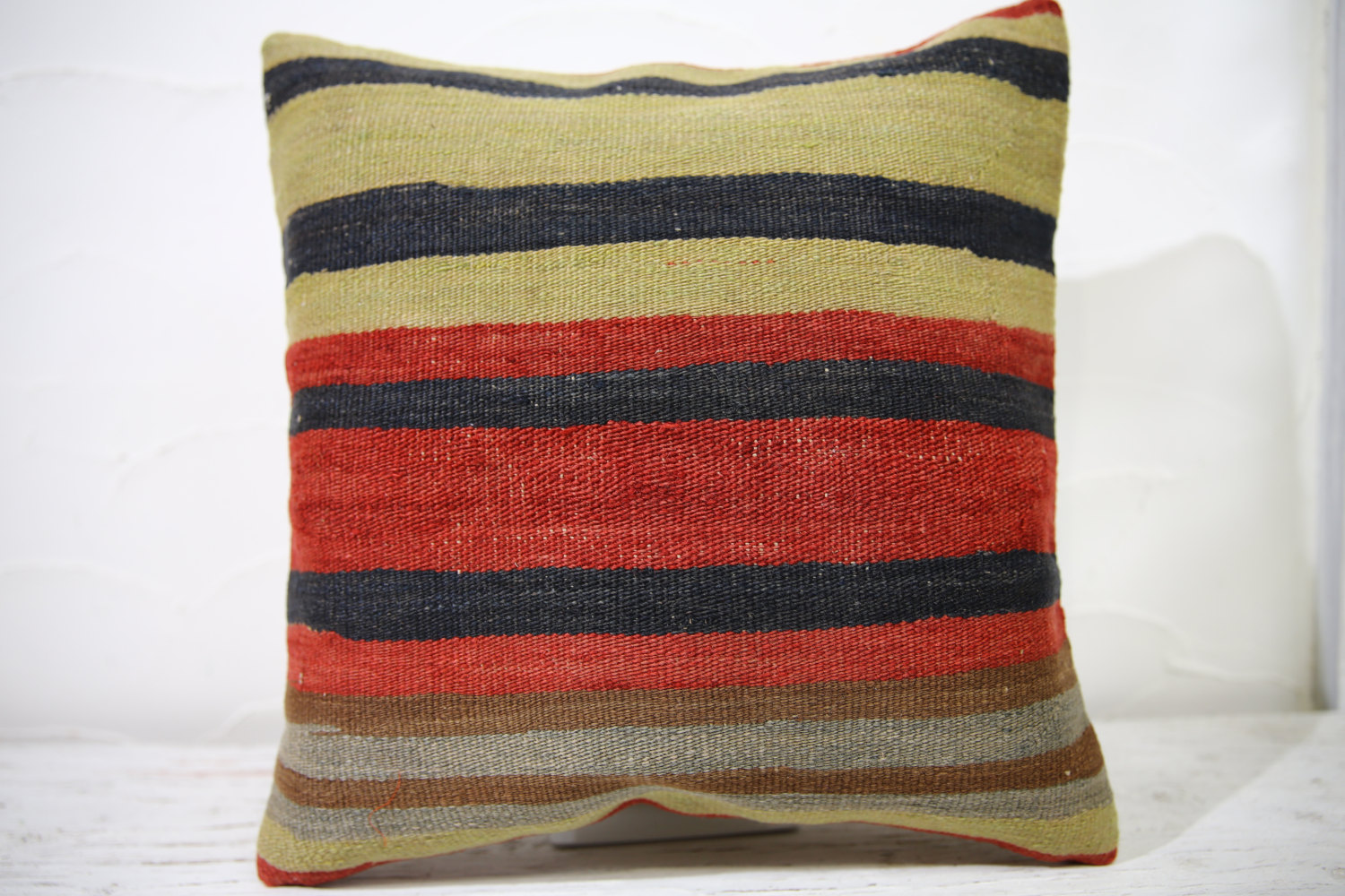 Kilim Pillows |16x16 | Decorative Pillows | 737 | Accent Pillows ,turkish pillow