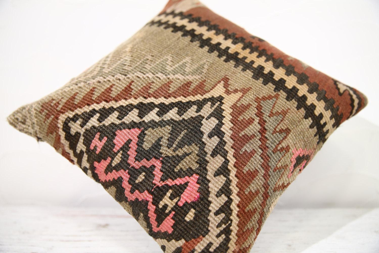 Kilim Pillows  16x16   Decorative Pillows   723   Accent Pillows ,turkish pillow