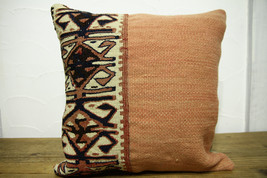 Kilim Pillows |16x16 | Decorative Pillows | 481 | Accent Pillows turkish... - $35.00