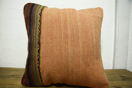 Kilim Pillows |16x16 | Decorative Pillows | 479 | Accent Pillows turkish... - $35.00