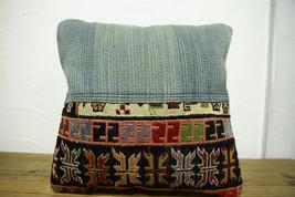 Kilim Pillows |16x16 | Decorative Pillows | 476 | Accent Pillows turkish... - $35.00