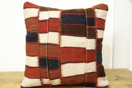 Kilim Pillows |16x16 | Decorative Pillows | 452 | Accent Pillows turkish... - $35.00