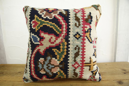 Kilim Pillows |16x16 | Decorative Pillows | 449 | Accent Pillows turkish... - $42.00