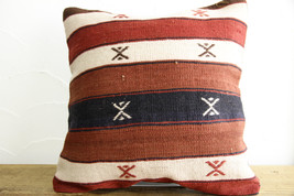 Kilim Pillows |16x16 | Decorative Pillows | 441 | Accent Pillows turkish... - $35.00