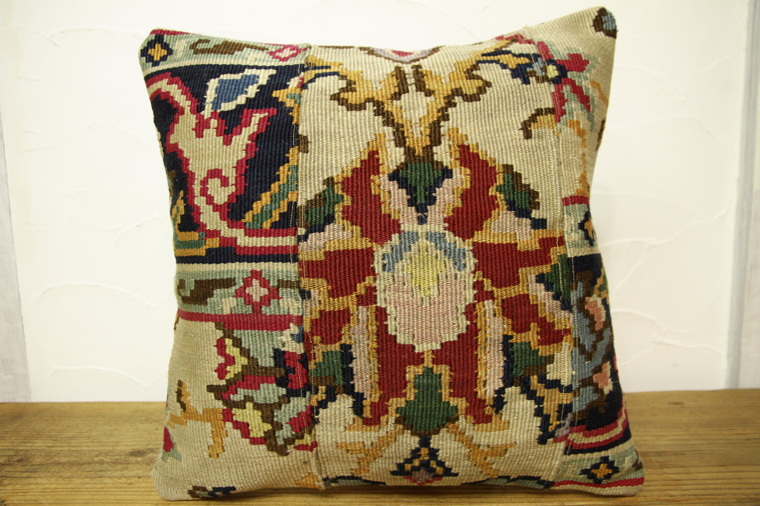 Kilim Pillows |16x16 | Decorative Pillows | 428 | Accent Pillows turkish pillow