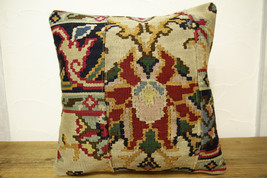Kilim Pillows |16x16 | Decorative Pillows | 428 | Accent Pillows turkish... - $42.00