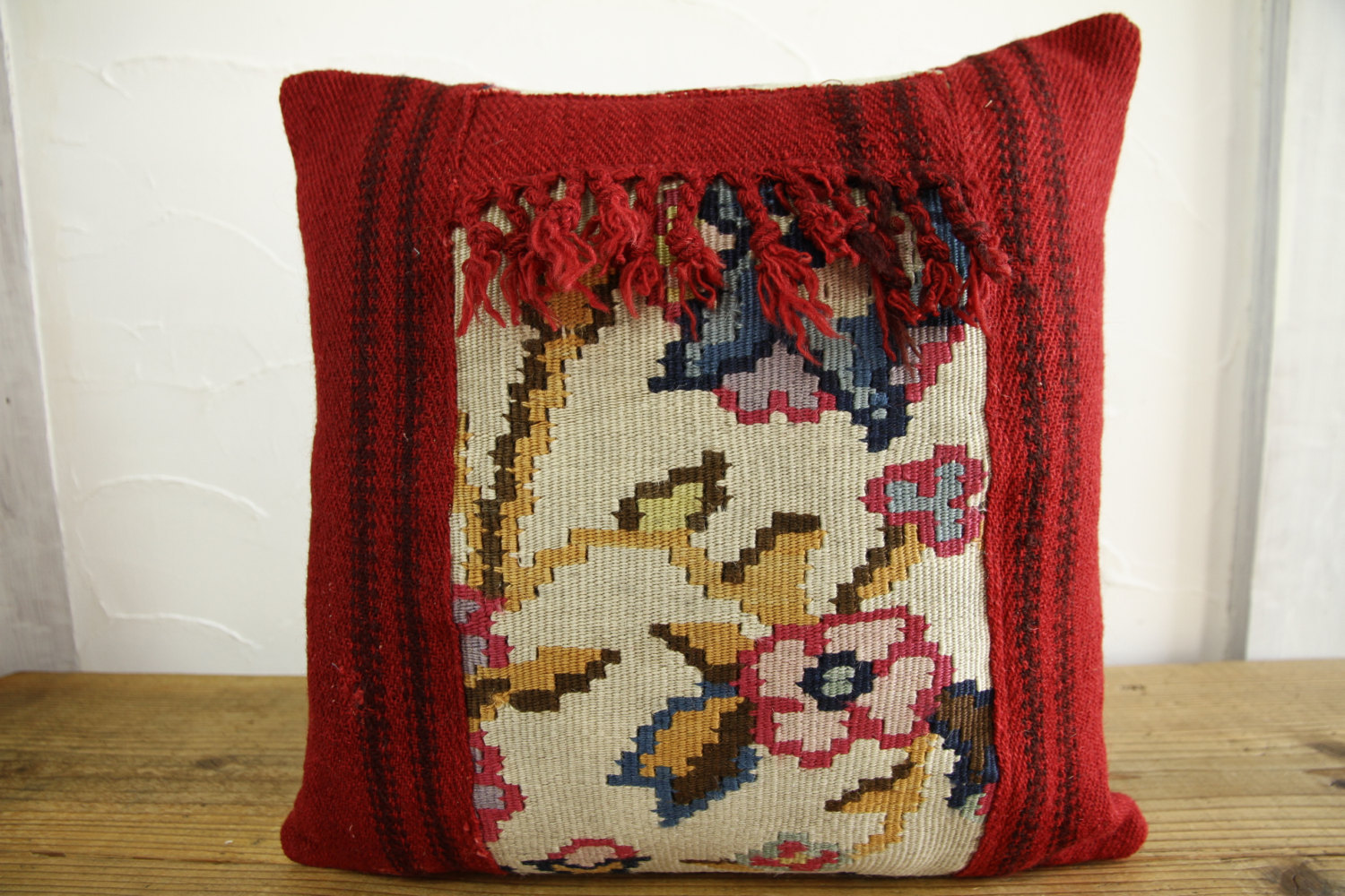Kilim Pillows |16x16 | Decorative Pillows | 427 | Accent Pillows turkish pillow
