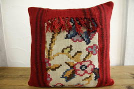 Kilim Pillows |16x16 | Decorative Pillows | 427 | Accent Pillows turkish... - $35.00