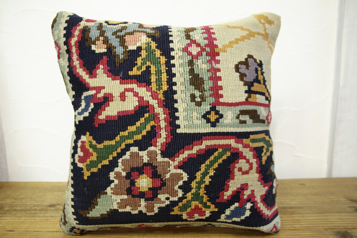 Kilim Pillows |16x16 | Decorative Pillows | 424 | Accent Pillows, Kilim cushion
