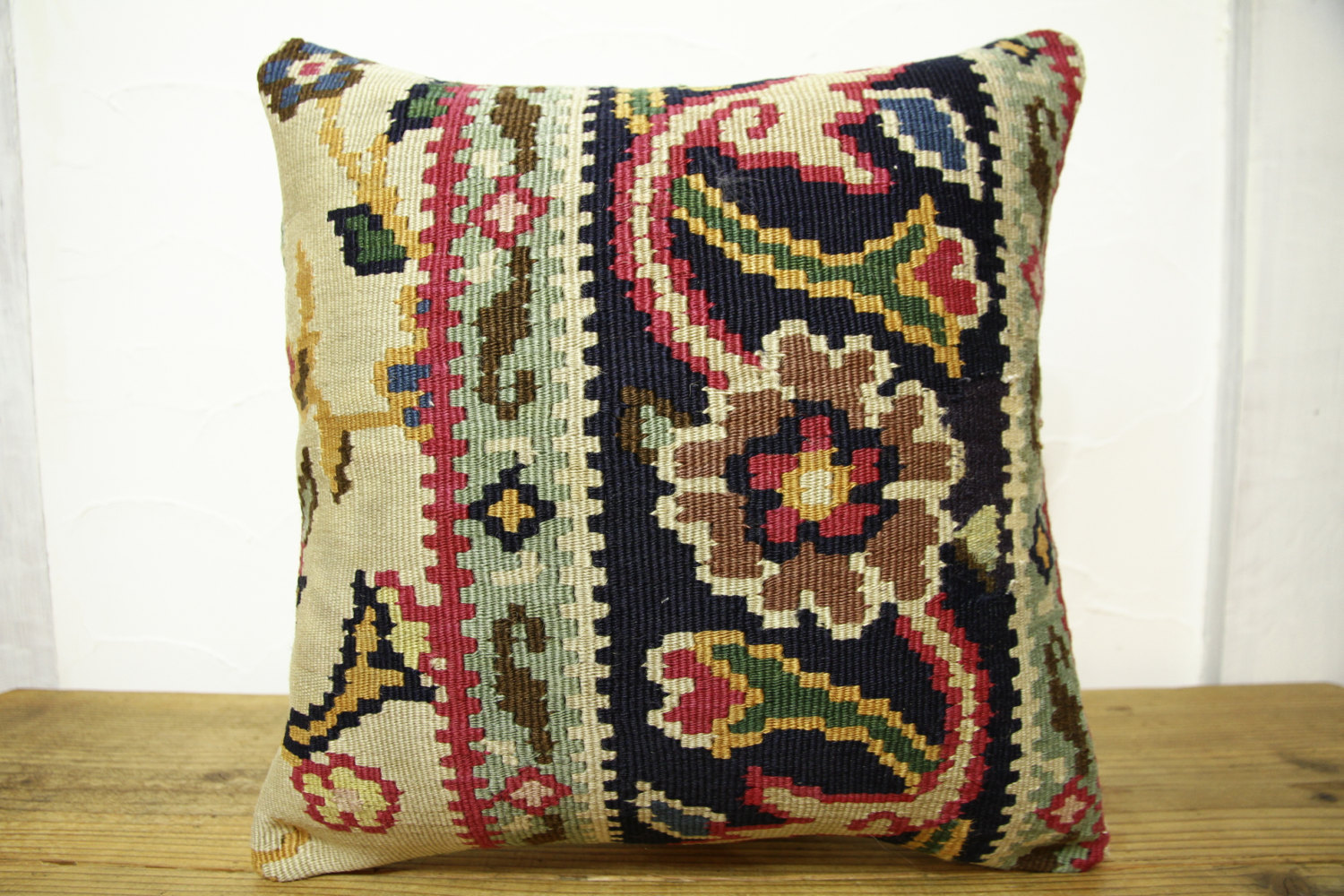 Kilim Pillows |16x16 | Decorative Pillows | 422 | Accent Pillows, Kilim cushion