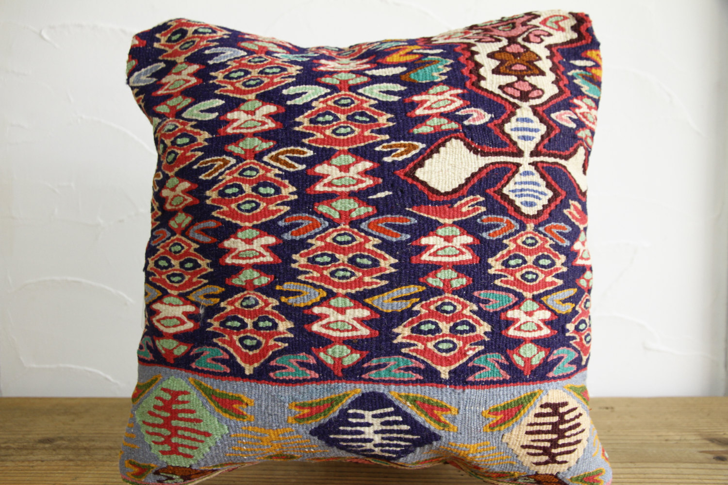 Kilim Pillows |16x16 | Decorative Pillows | 155 | Accent Pillows, Kilim cushion