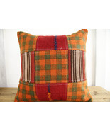 Kilim Pillows |18x18| Decorative Pillows | 380 | Accent Pillows, Kilim c... - $35.00