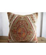 Kilim Pillows |18x18| Decorative Pillows | 340 | Accent Pillows, Kilim c... - $49.00