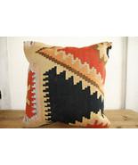 Kilim Pillows |18x18| Decorative Pillows | 333 | Accent Pillows, Kilim c... - $49.00