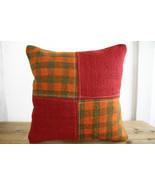 Kilim Pillows |17x17| Decorative Pillows | 348 | Accent Pillows, Kilim c... - $35.00