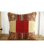 Kilim Pillows |18x18| Decorative Pillows | 329 | Accent Pillows, Kilim c... - $35.00